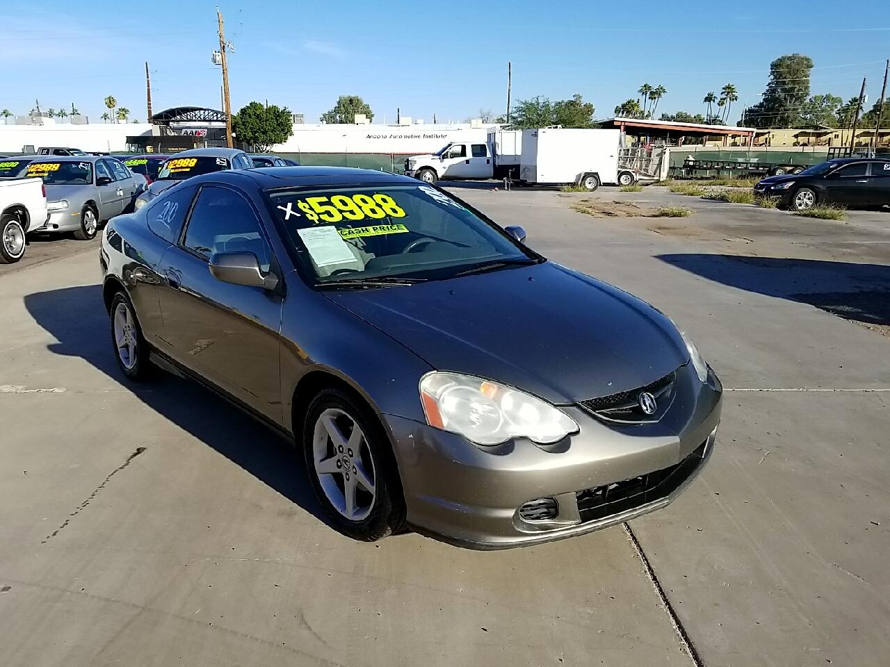 Acura RSX Coupe with 5-speed AT 2004