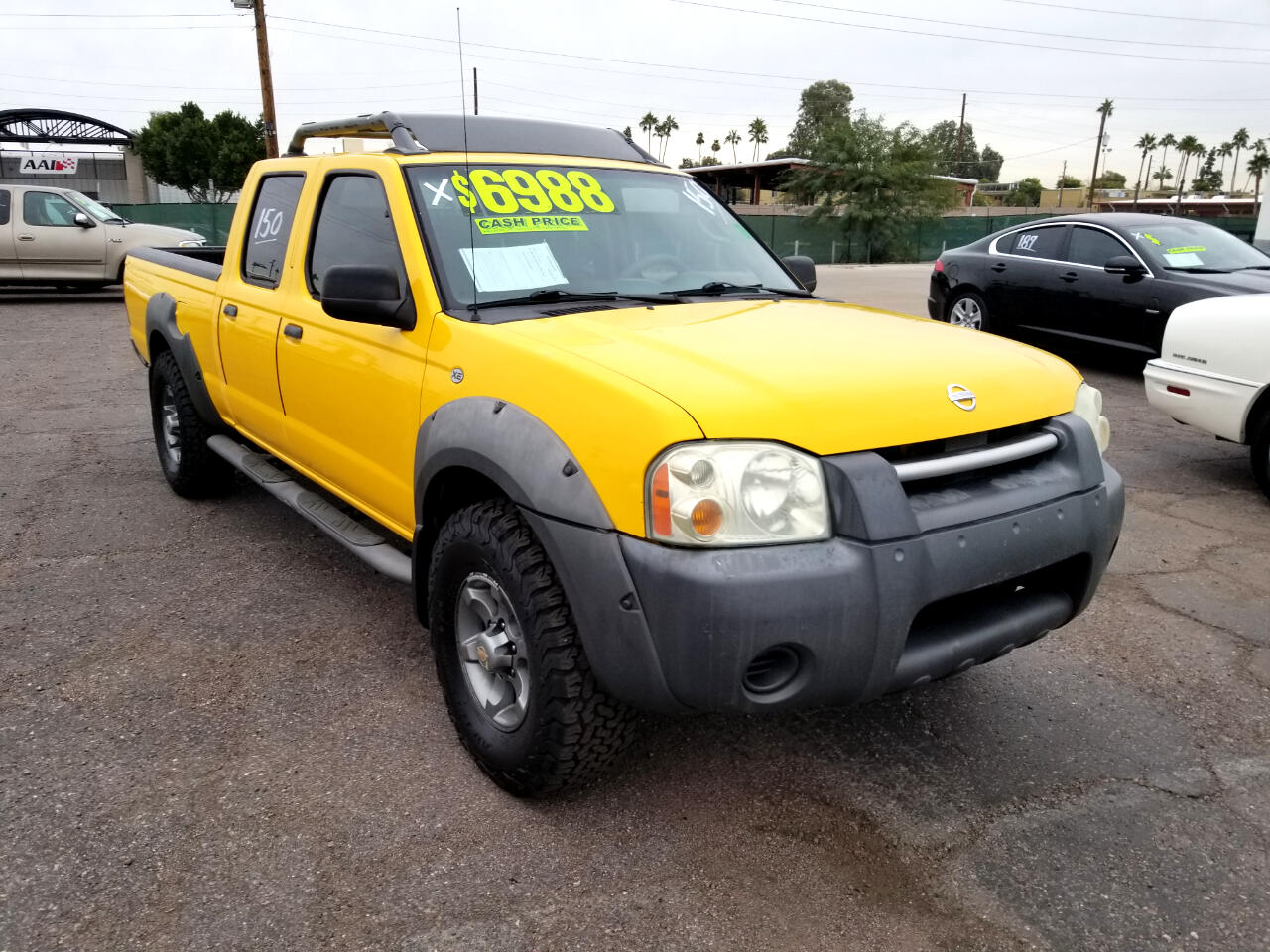 Nissan Frontier XE-V6 Crew Cab Long Bed 4WD 2002