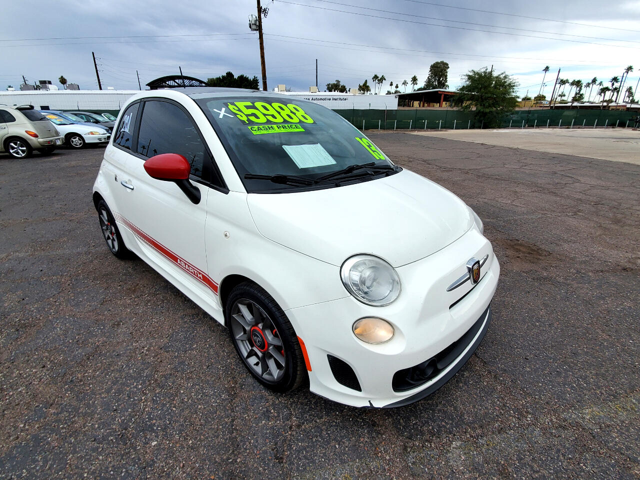 Fiat 500 Abarth Hatchback 2013