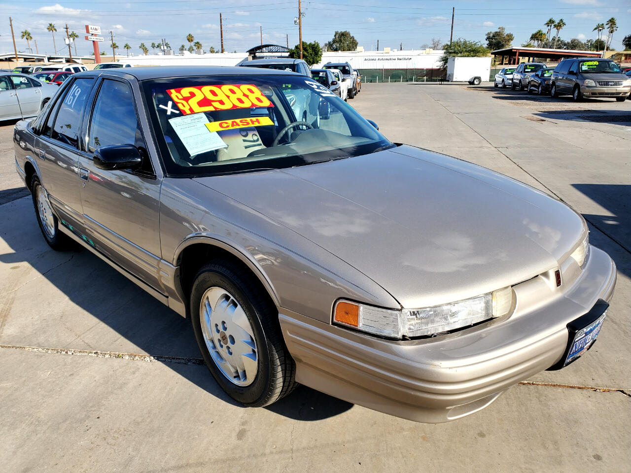Oldsmobile Cutlass Supreme SL Series I sedan 1997