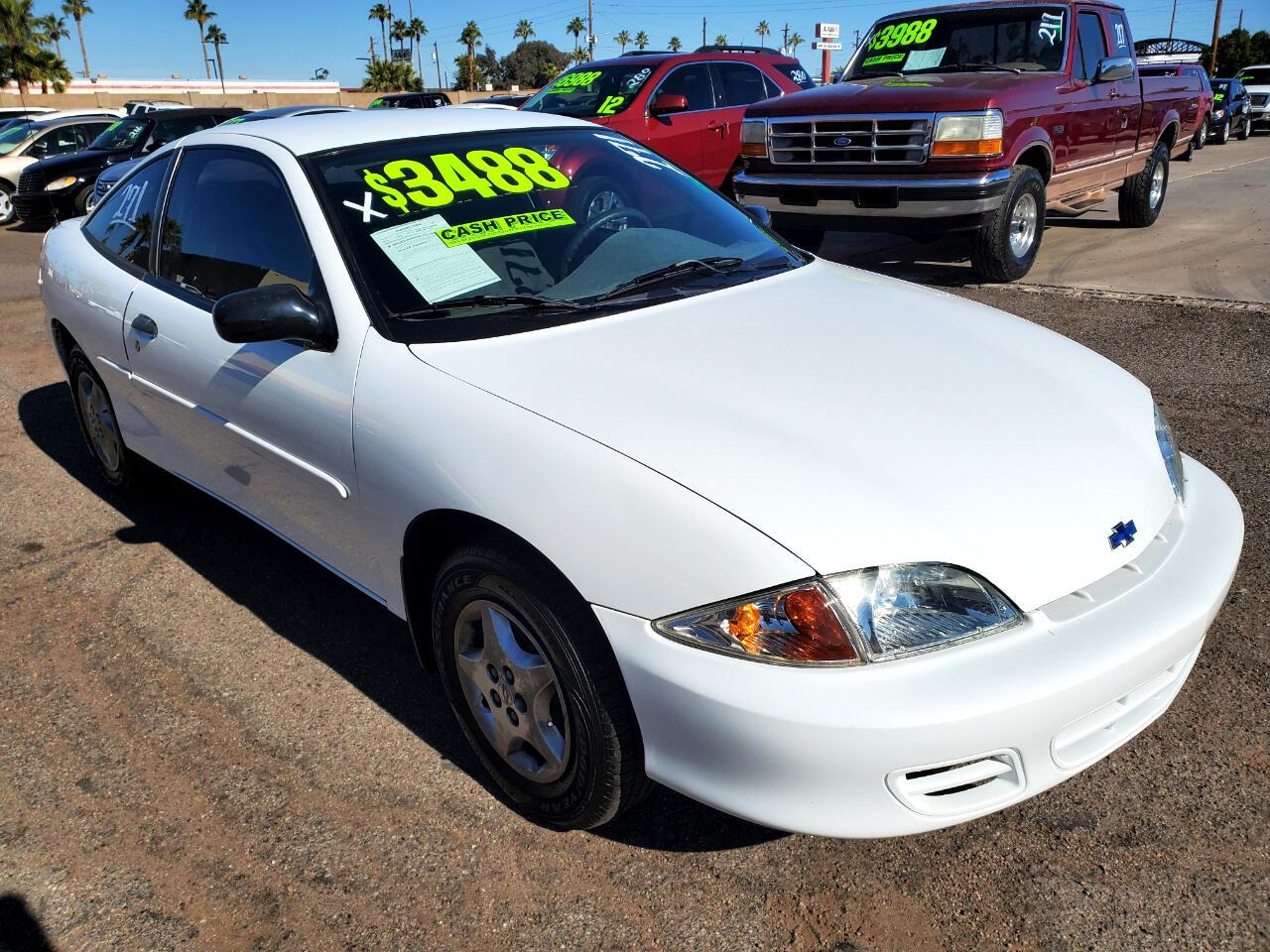 Chevrolet Cavalier Coupe 2002