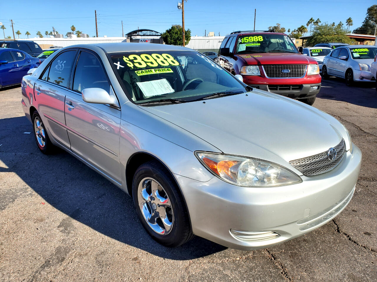 Toyota Camry LE 2002