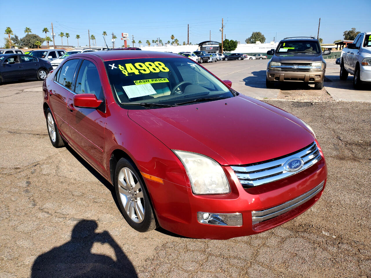 Ford Fusion V6 SEL 2007