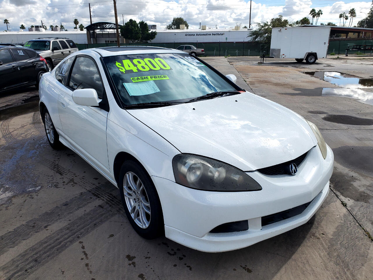Acura RSX Coupe with 5-speed AT 2005