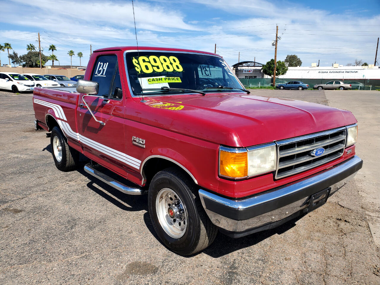Ford F-150 S Reg. Cab Short Bed 2WD 1991