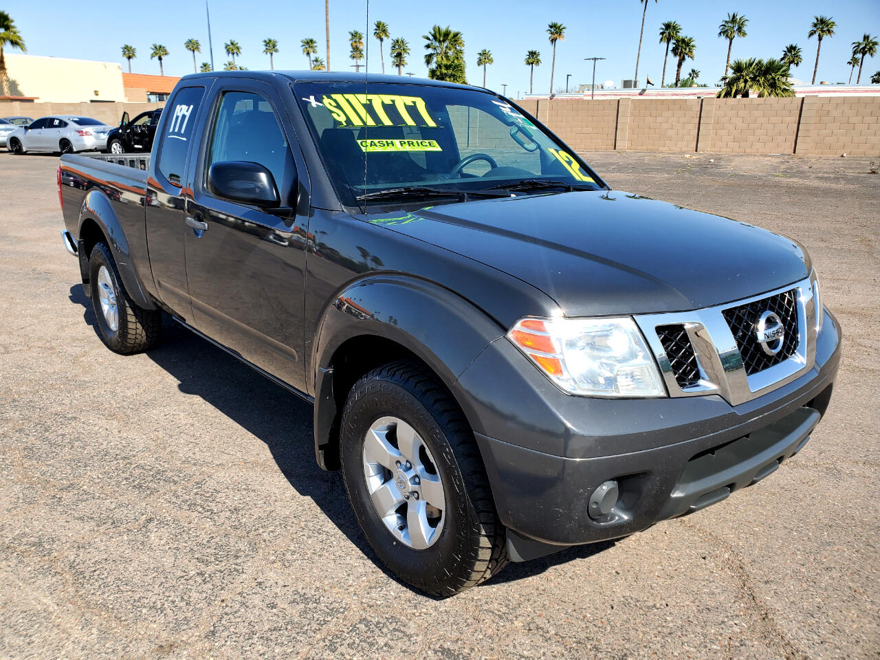 Nissan Frontier 4WD King Cab Manual SV 2012