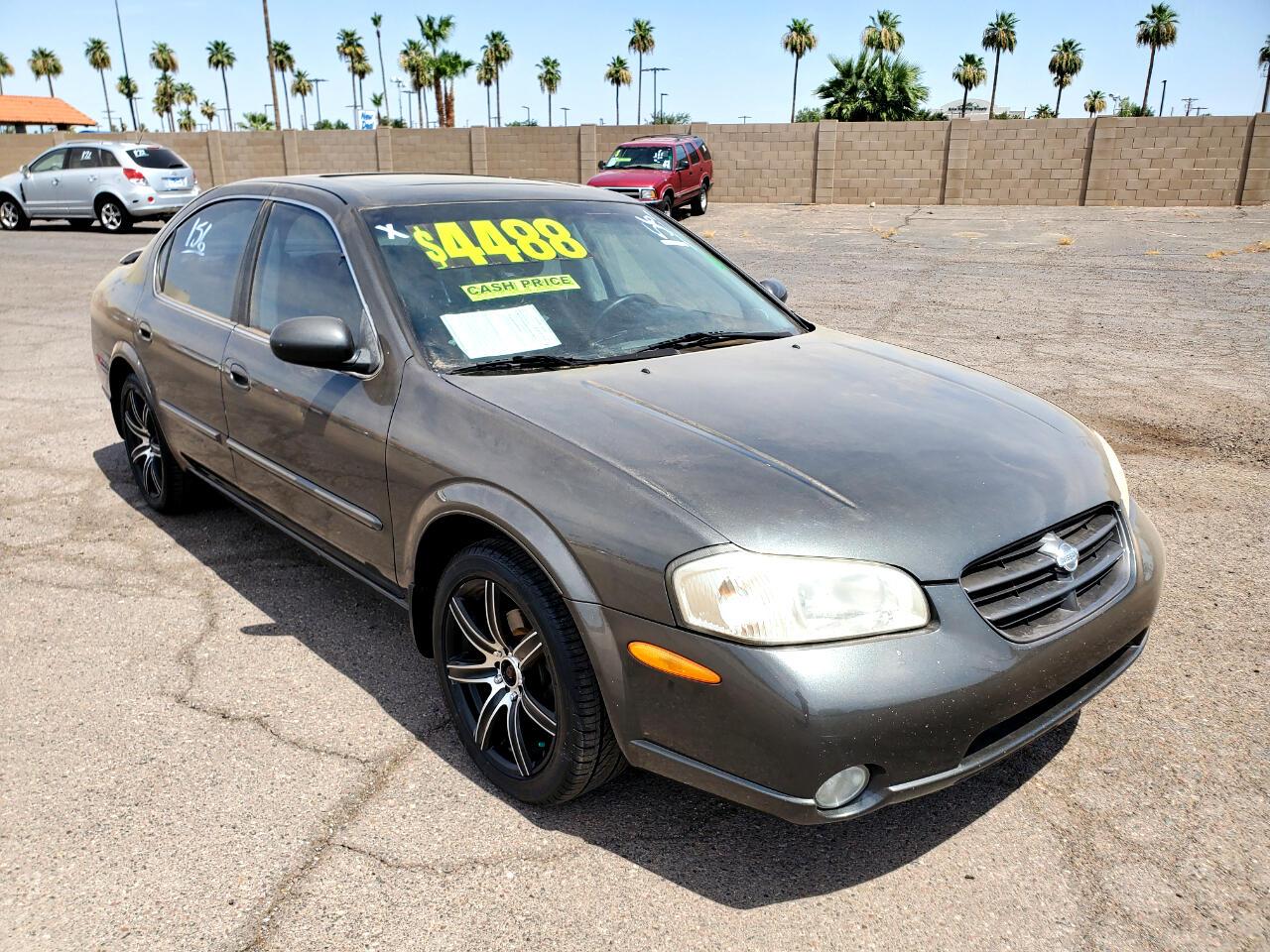 2000 Nissan Maxima 4dr Sdn GLE Auto