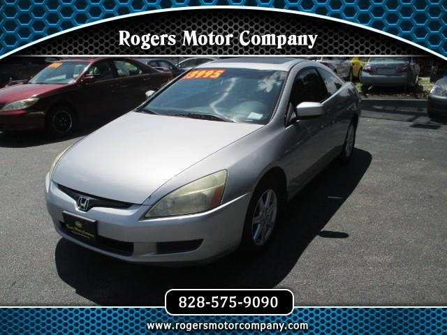 2004 Honda Accord 2dr Coupe Auto EX w/Leather