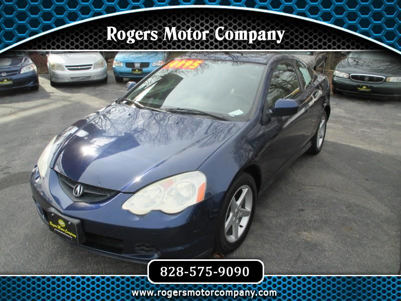 2003 Acura RSX Coupe with 5-speed AT