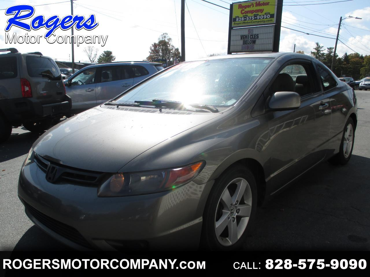 Honda Civic EX Coupe AT with Navigation 2008