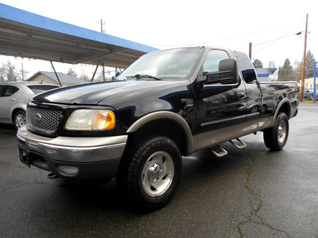 2001 Ford F-150 Lariat SuperCab Short Bed 4WD