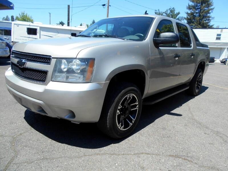 "2009 Chevrolet Avalanche 1500 5dr Crew Cab 130"" WB 4WD LT"