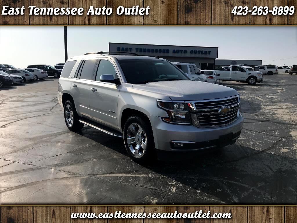 Used 2015 Chevrolet Tahoe For Sale In Etowah Tn 37331 East Chevy Chrome Roof Rack