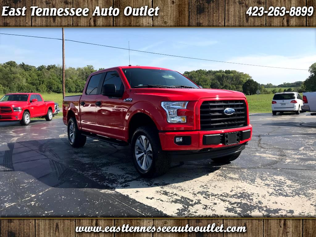 2017 Ford F-150 4WD SuperCrew XL