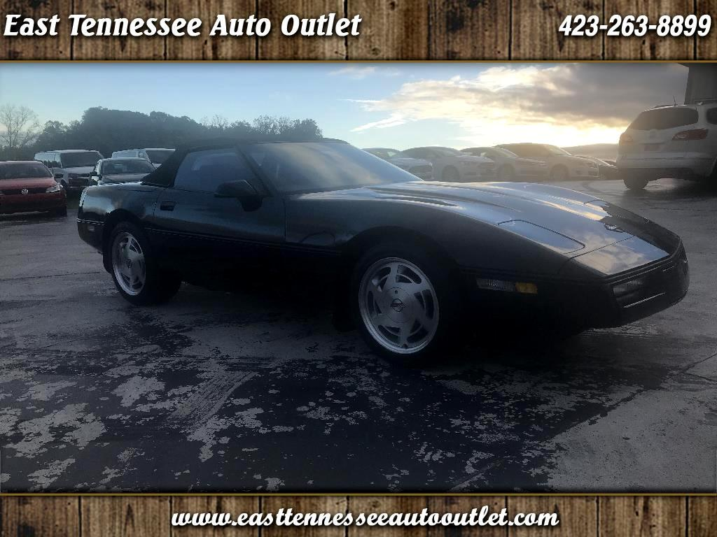 1989 Chevrolet Corvette 2dr Convertible