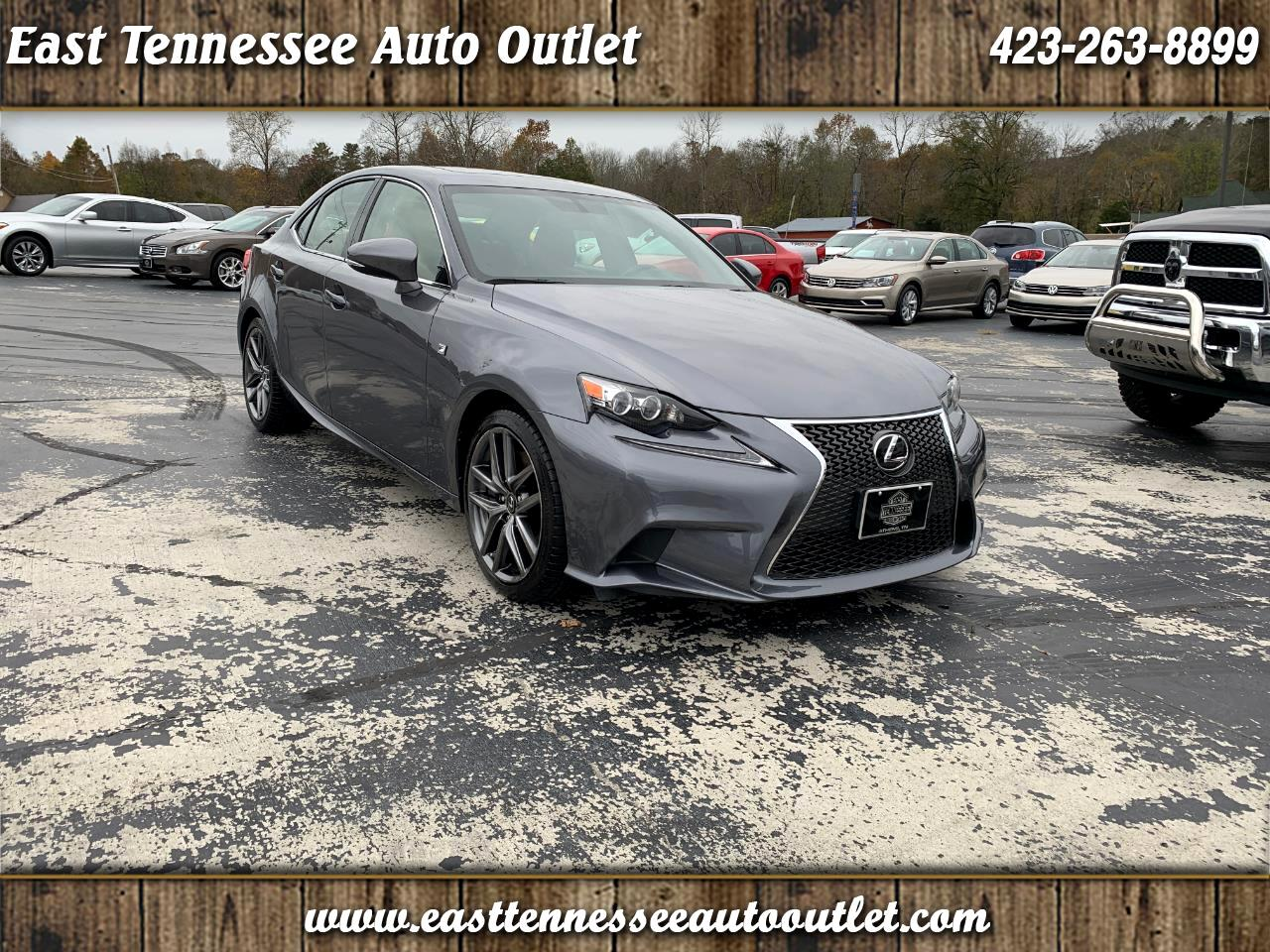 2016 Lexus IS 200t 4dr Sdn F Sport