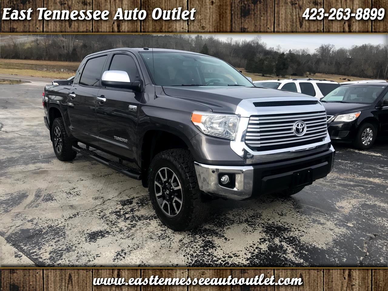 2014 Toyota Tundra 4WD Truck CrewMax 5.7L FFV V8 6-Spd AT LTD (Natl)