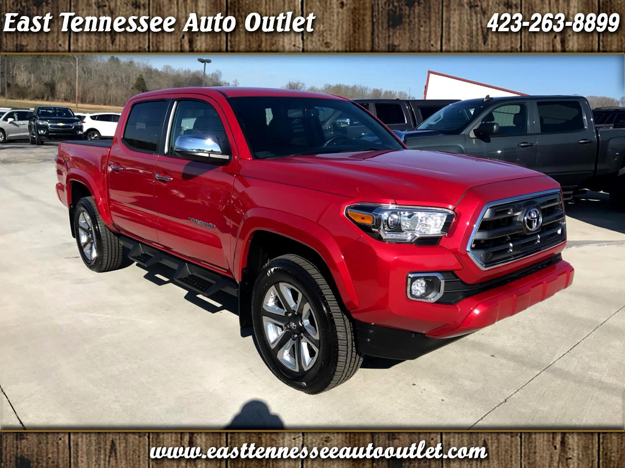 2017 Toyota Tacoma Limited Double Cab 5' Bed V6 4x2 AT (Natl)