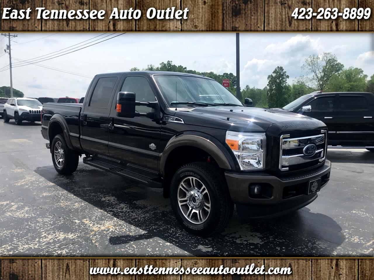 "2016 Ford Super Duty F-350 SRW 4WD Crew Cab 156"" King Ranch"