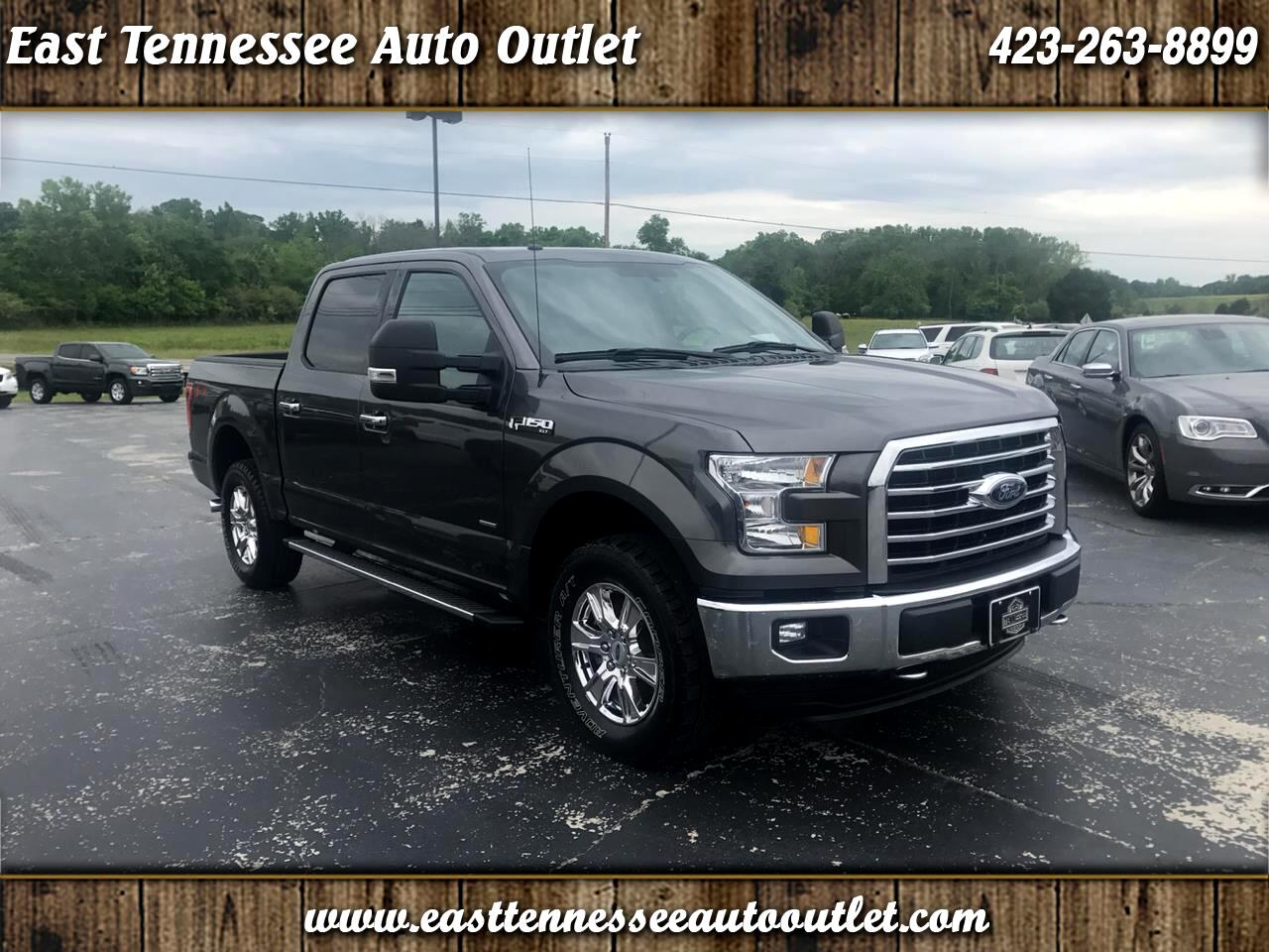 2016 Ford F-150 XLT SuperCab 4WD