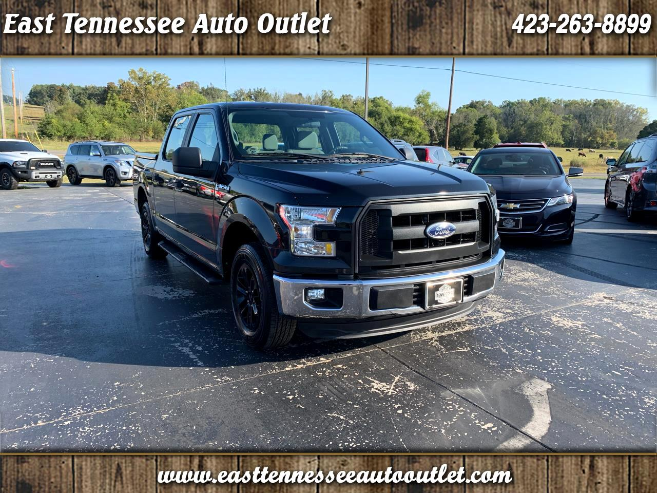 Ford F-150 XL 2WD SuperCrew 5.5' Box 2015