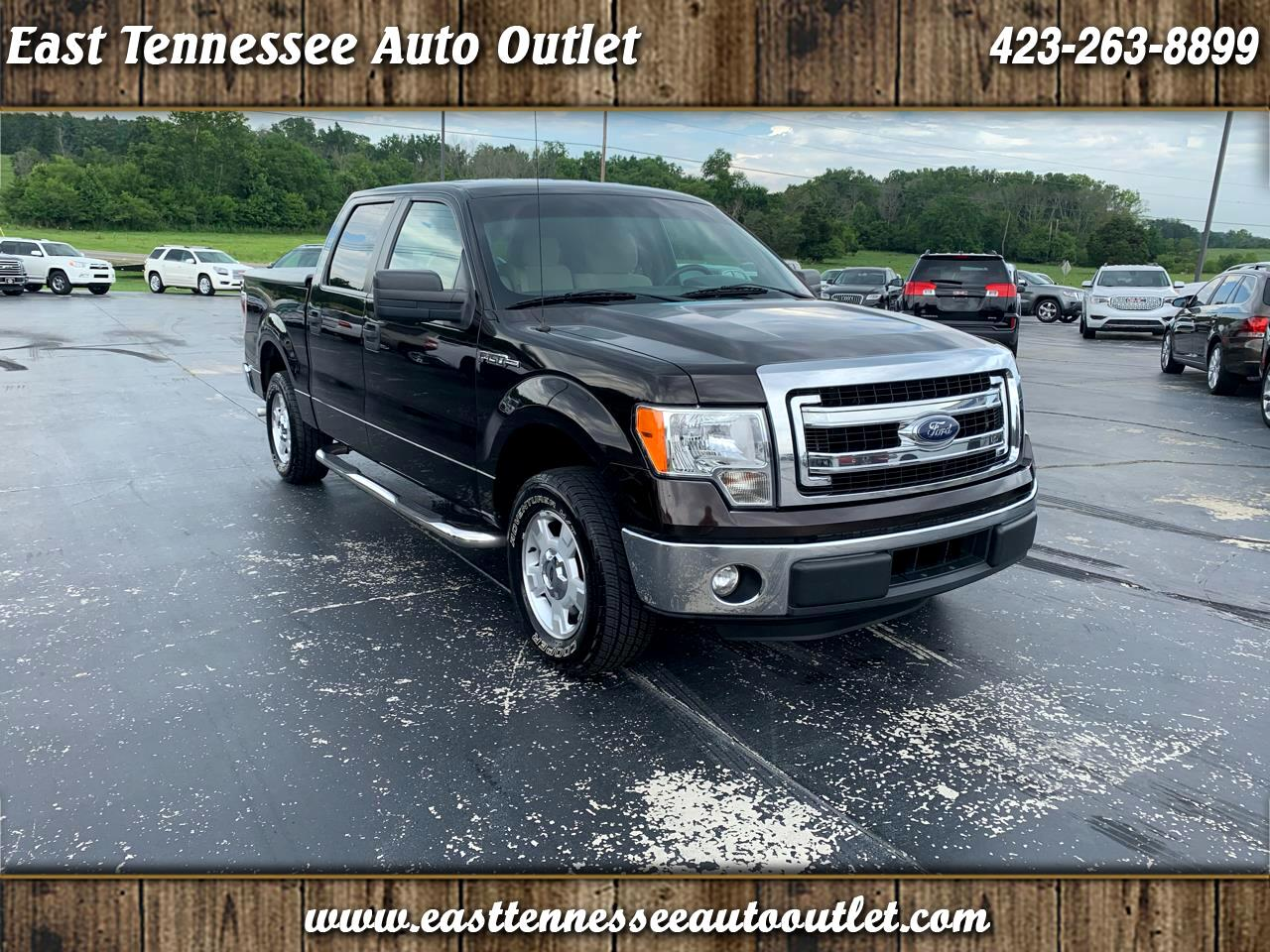 "Ford F-150 2WD SuperCrew 145"" XLT 2014"