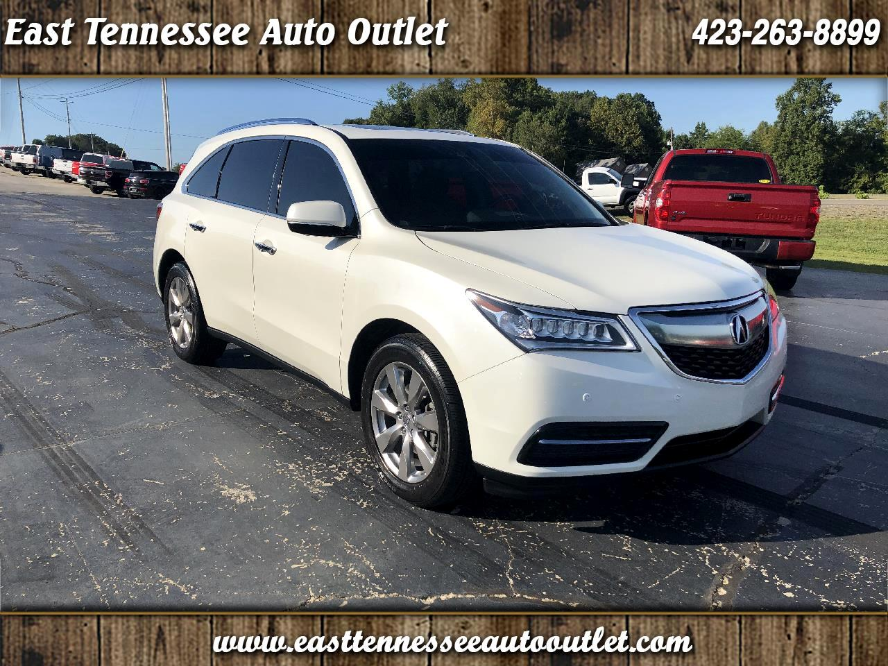 Acura MDX SH-AWD 4dr w/Advance/Entertainment 2016