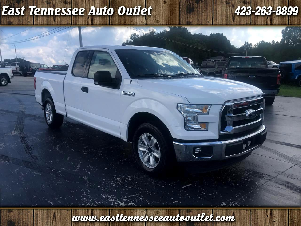 2016 Ford F-150 XLT SuperCab 2WD