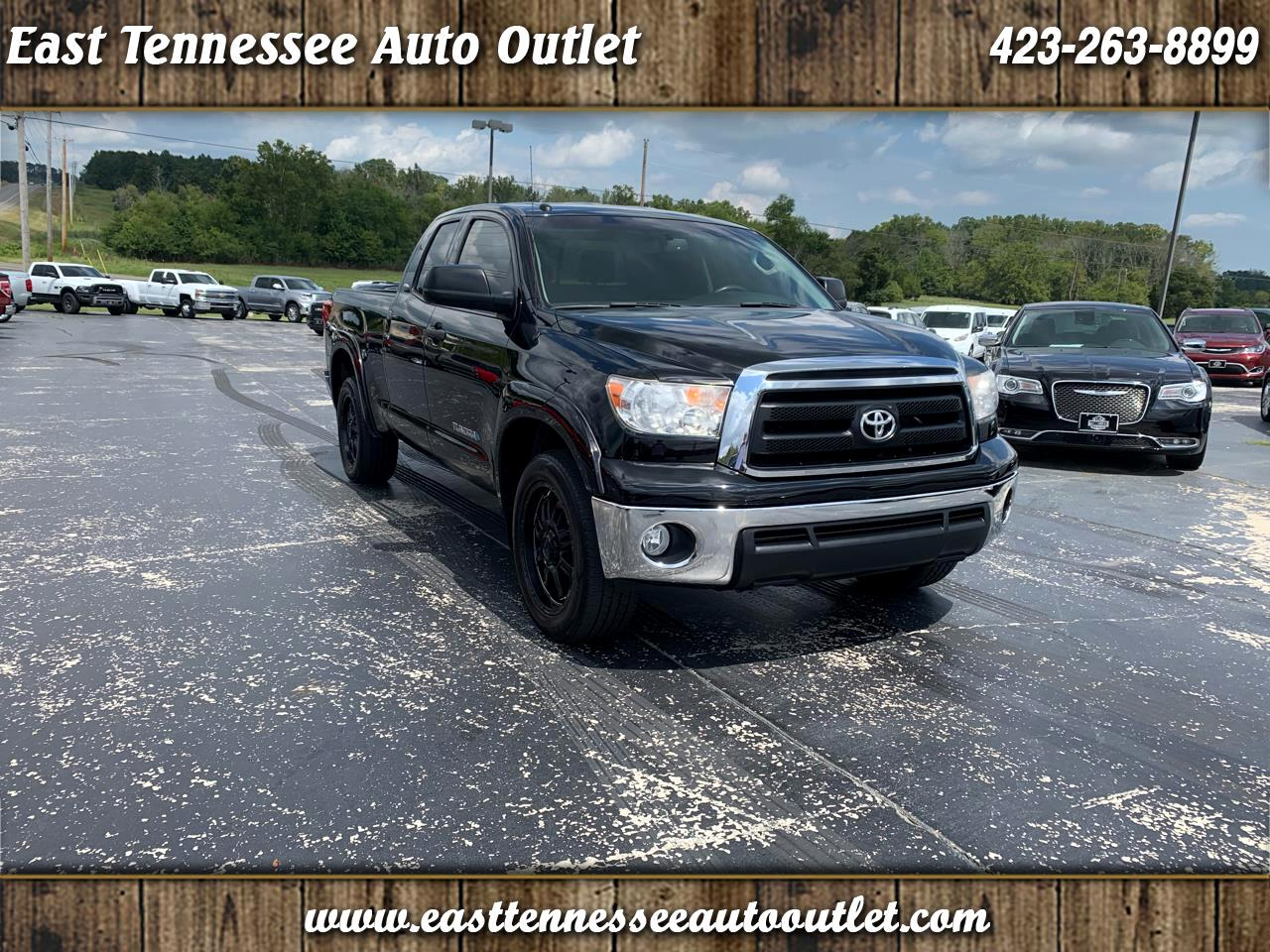 Toyota Tundra 2WD Truck Double Cab 4.6L V8 6-Spd AT (Natl) 2013