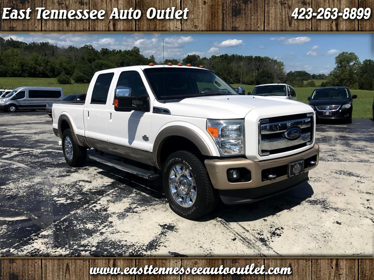 2012 Ford Super Duty F-250 SRW King Ranch 4WD Crew Cab 6.75' Box