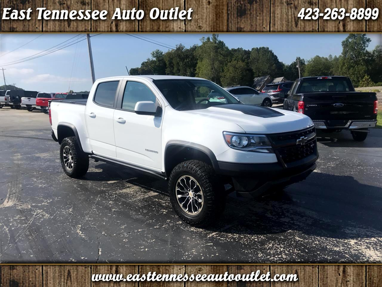 "2019 Chevrolet Colorado 4WD Crew Cab 128.3"" ZR2"