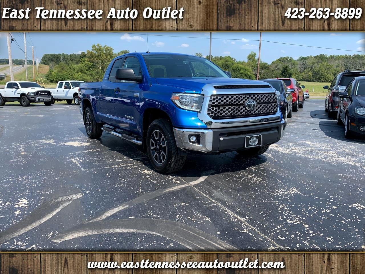 2018 Toyota Tundra 4WD SR5 Double Cab 6.5' Bed 5.7L (Natl)