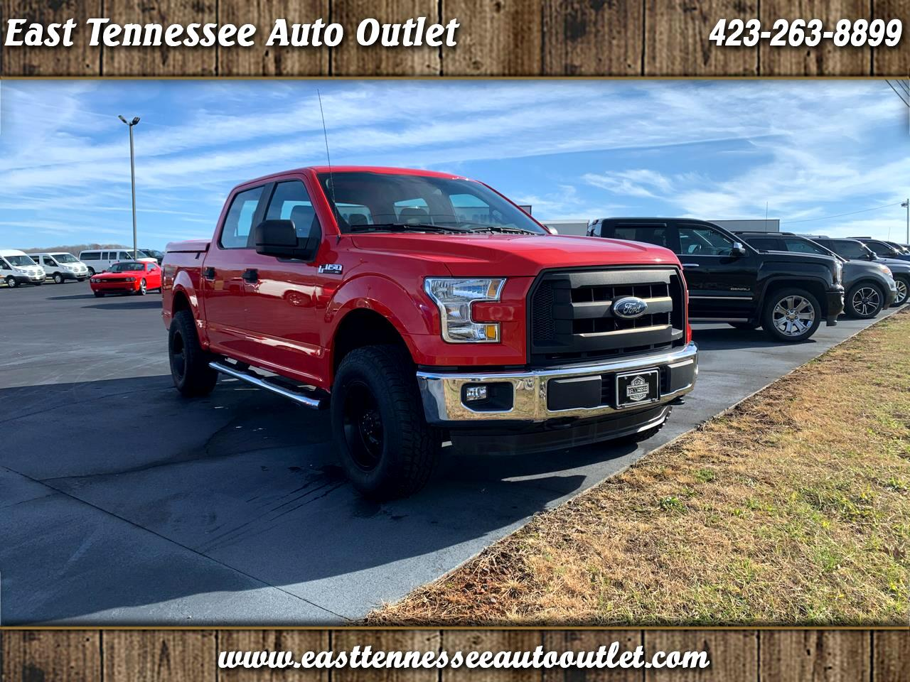 "Ford F-150 4WD SuperCrew 145"" XL 2016"