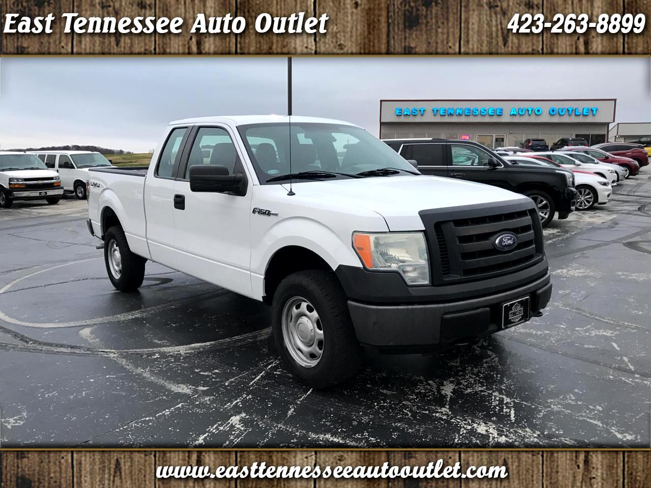 Ford F-150 XL 4WD SuperCab 6.5' Box 2010