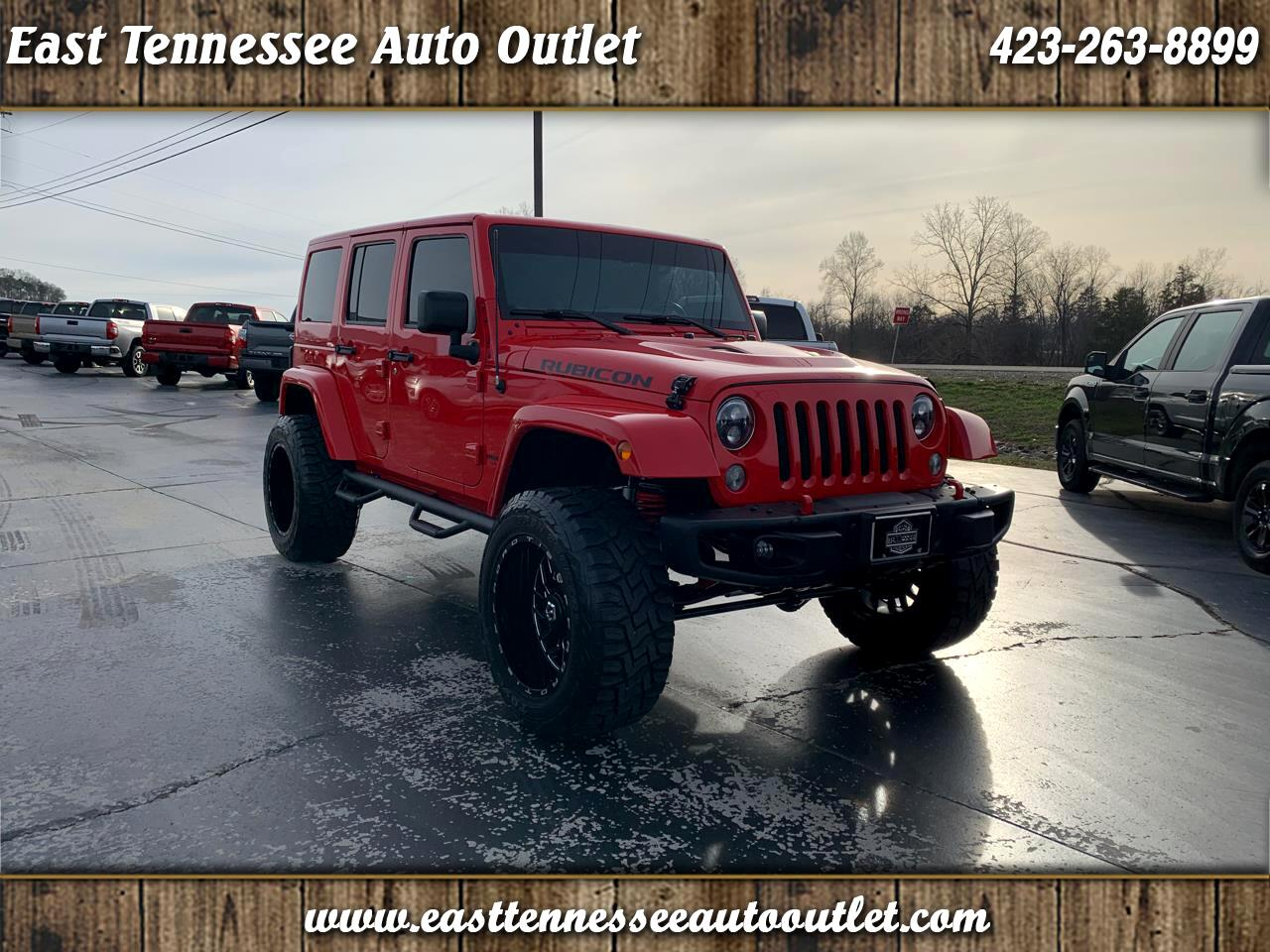 Jeep Wrangler Unlimited 4WD 4dr Rubicon 2015