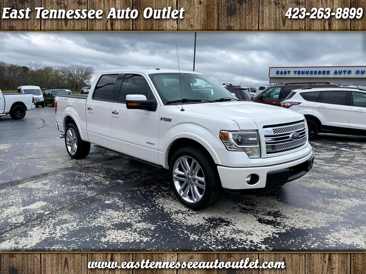 """Ford F-150 2WD SuperCrew 145"""" Limited 2014"""