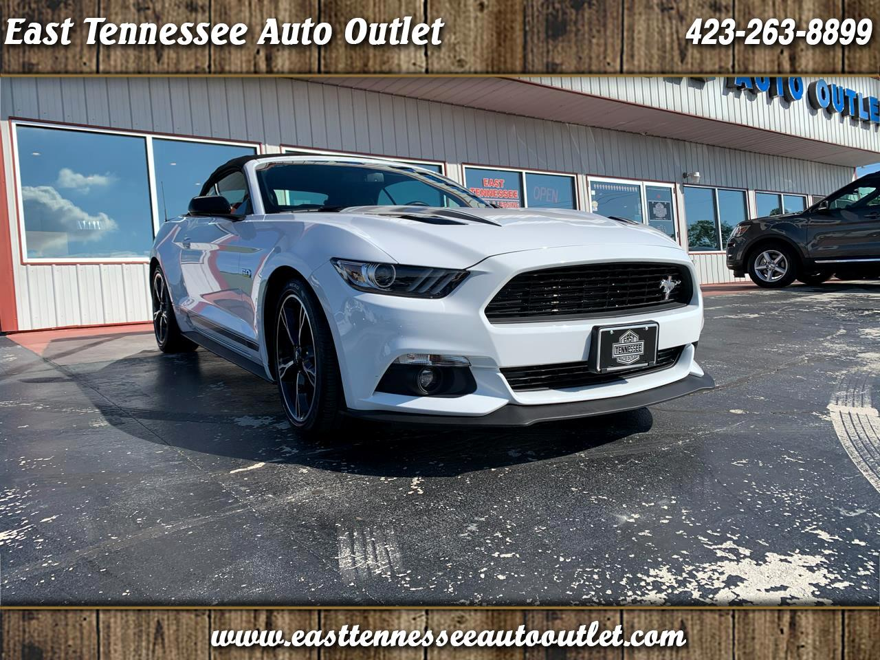 Ford Mustang 2dr Conv GT Premium 2016