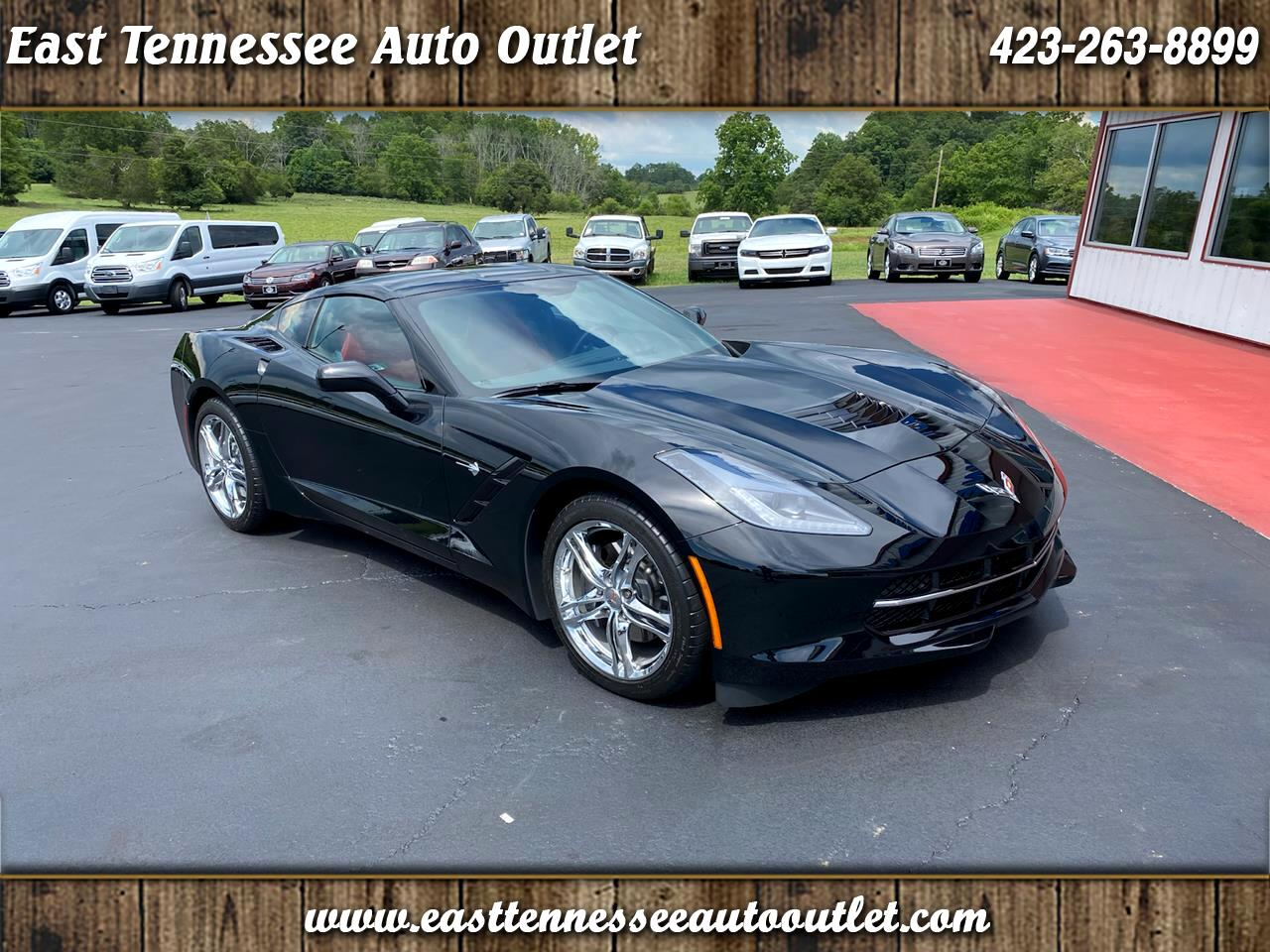 Chevrolet Corvette 2dr Stingray Cpe w/1LT 2017