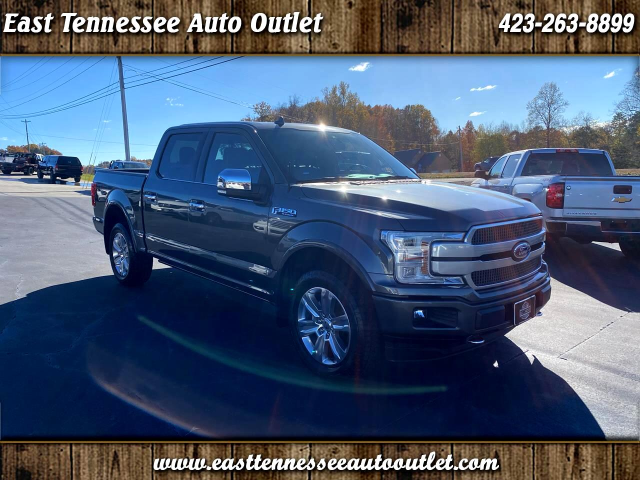 Ford F-150 Platinum 4WD SuperCrew 5.5' Box 2018
