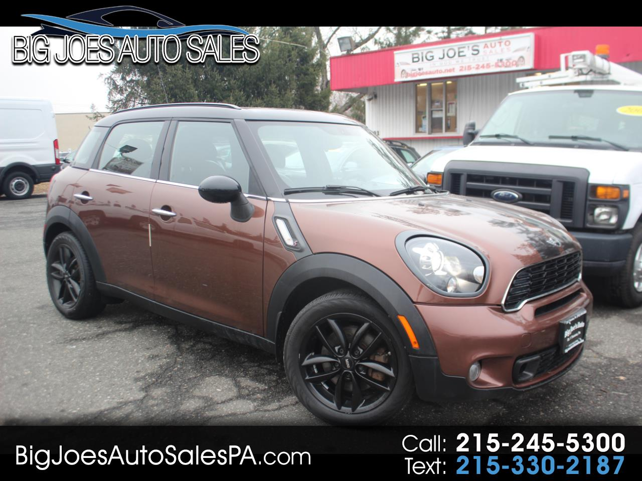 2014 MINI Cooper Countryman ALL4 4dr S