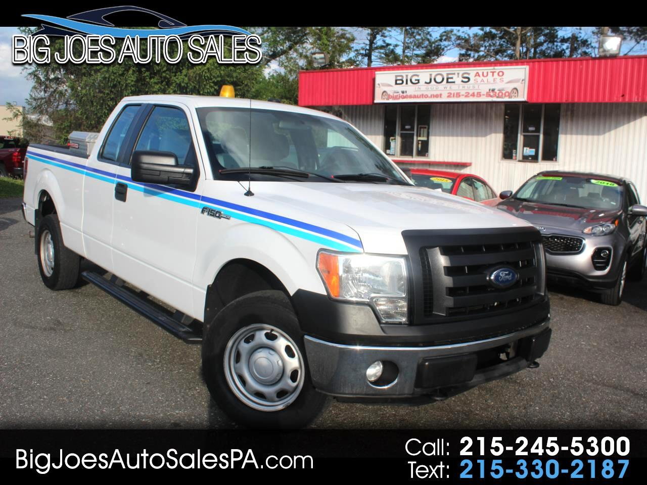 "2011 Ford F-150 4WD SuperCab 145"" XL"
