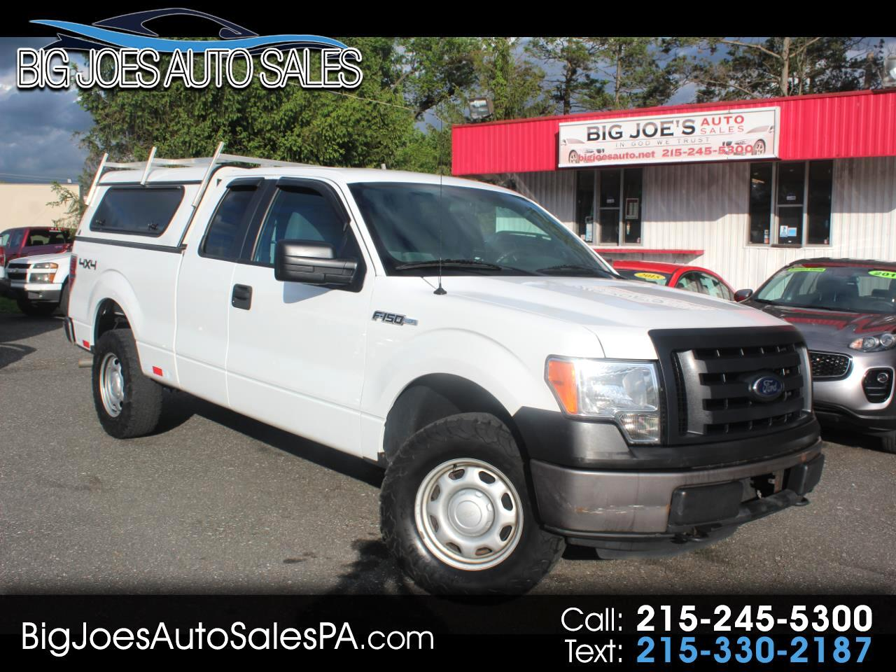 "2012 Ford F-150 4WD SuperCab 163"" XL"