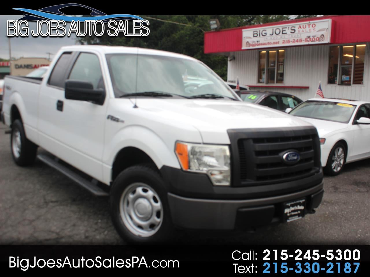 "Ford F-150 4WD SuperCab 145"" XL 2011"