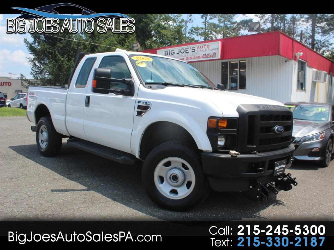 "2008 Ford Super Duty F-350 SRW 4WD SuperCab 142"" XL"