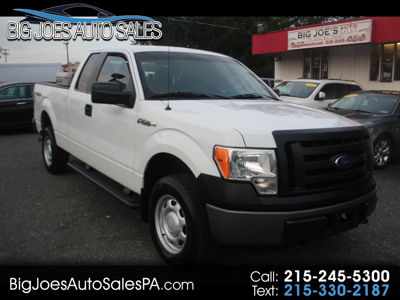 "Ford F-150 4WD SuperCrew 139"" XL 2011"
