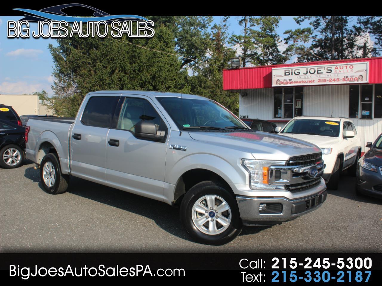 2018 Ford F-150 King Ranch 2WD SuperCrew 6.5' Box