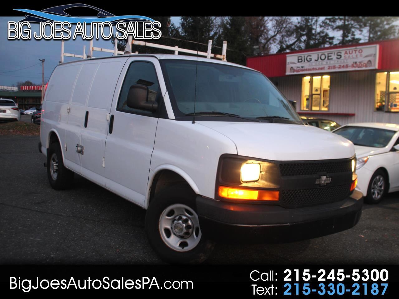 """Chevrolet Express Cargo Van RWD 3500 135"""" 2013"""