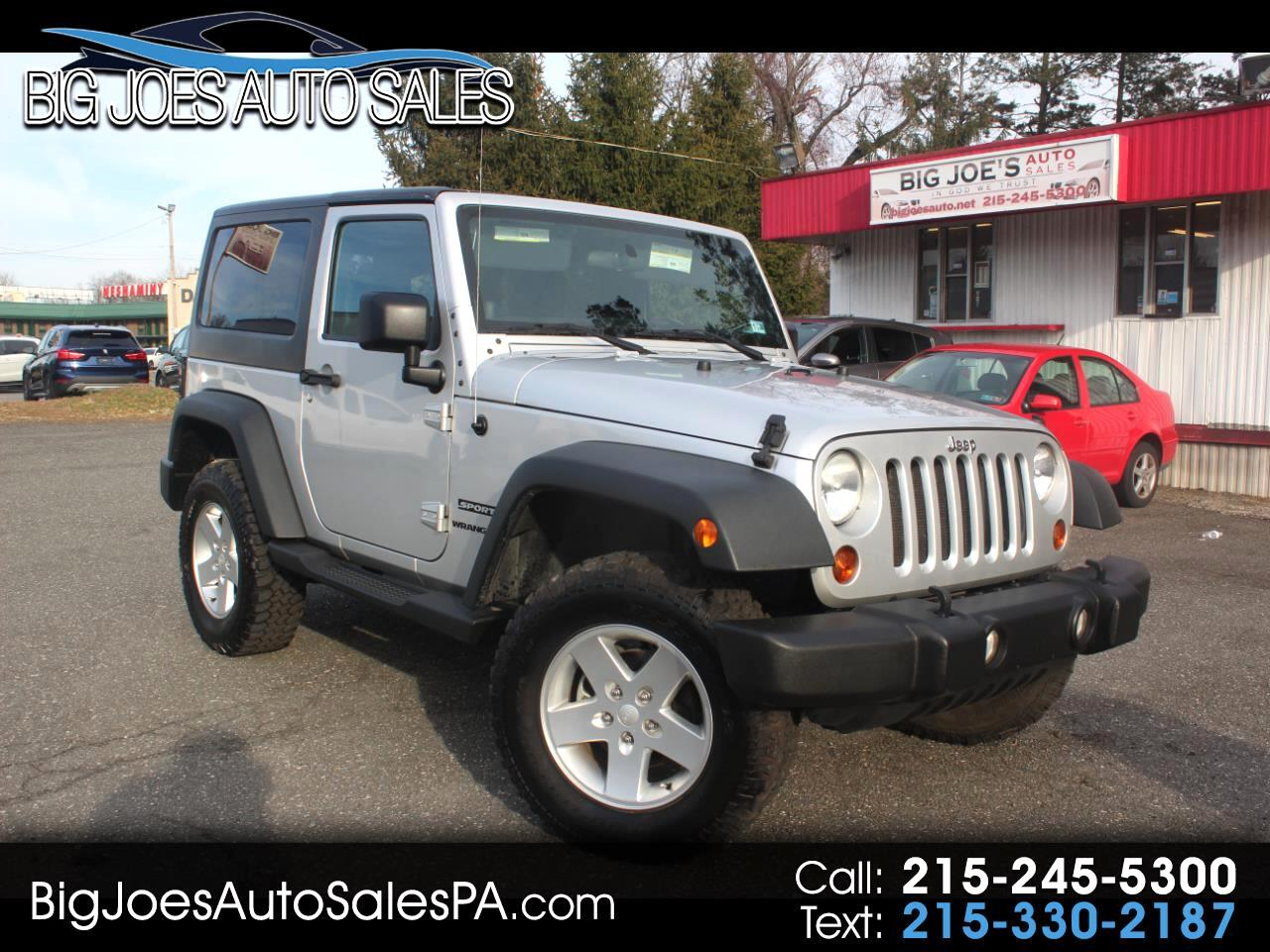Jeep Wrangler 4WD 2dr Sport 2011