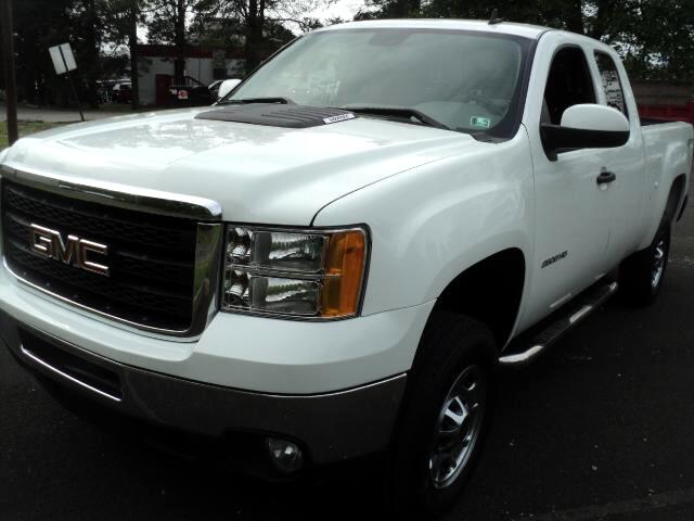 2012 GMC Sierra 2500HD Work Truck Ext. Cab Long Box 4WD