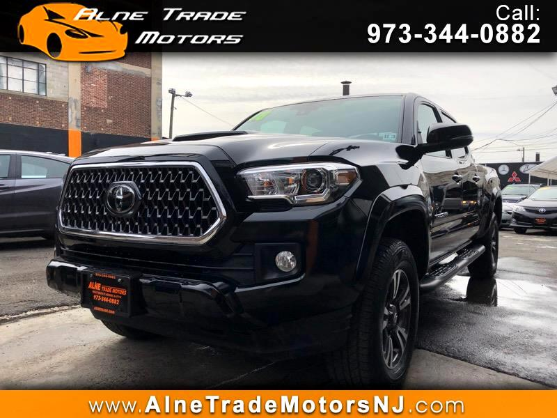 Toyota Tacoma SR5 Double Cab Super Long Bed V6 6AT 4WD 2018